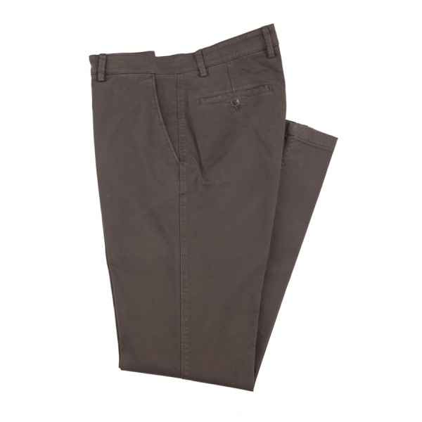 Pantalone Chino, Slim Fit, Marrone