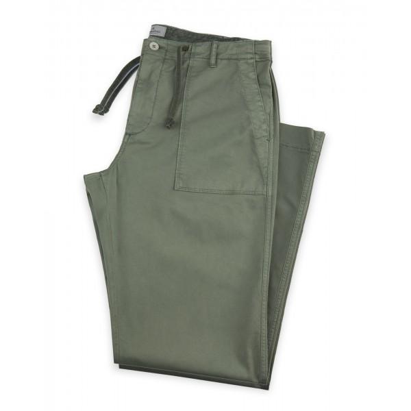 Pantalone Fatigue, Stretch, Verde
