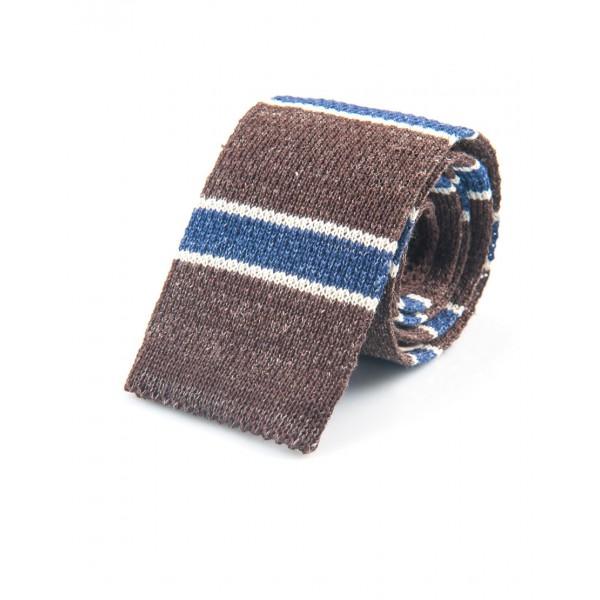 Cravatta, Cotone- Lino