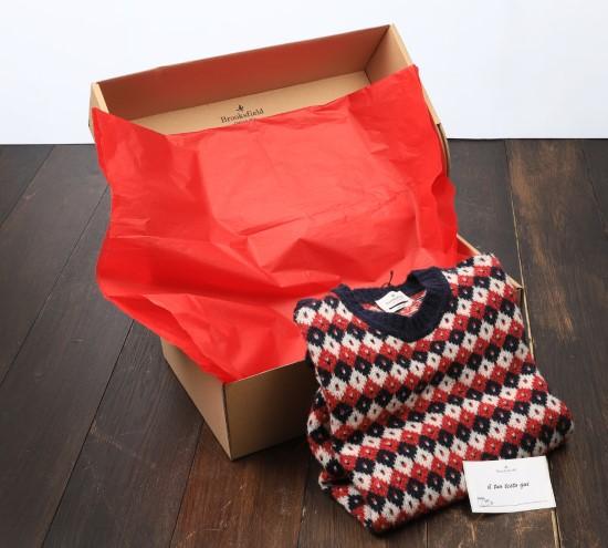 Preparazione della confezione regalo